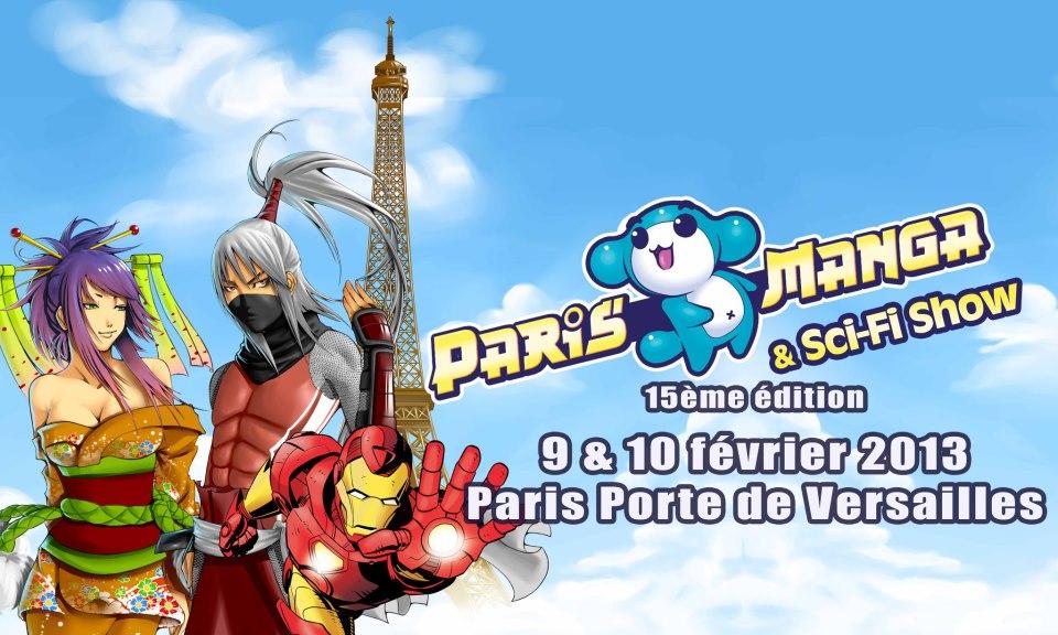 Paris Manga Sci-Fi-Show février 2013