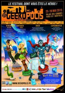 Geekopolis 2013 affiche