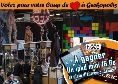 Coup de coeur Geekopolis